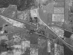 Amherst Junction Tunnel & Railroad Bridge 1938 Aerial